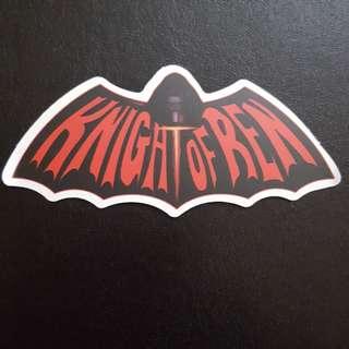 C4 Star Wars Knight Of Ren Sticker Stickers