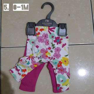 Legging isi 2 original mothercare size 0-1