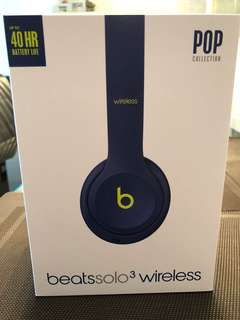 🚚 Beats solo 3 wireless (Pop Collection)