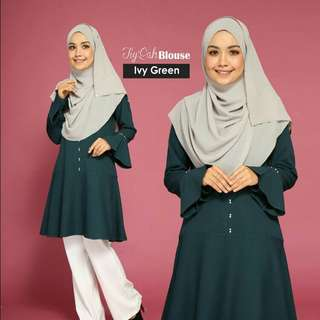 Tiyqah ivy green blouse clearance 4xl
