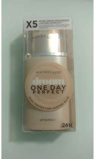 MAYBELLINE DREAM ONE DAY PERFECT DUAL PROTECTION LASTING BASE SPF18/PA++