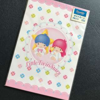 Little Twin Stars Postcard 文具