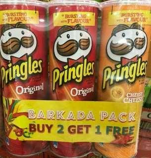 Pringles Barkada Pack (3pcs)