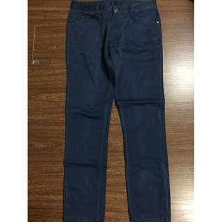 Zara Man 5 pocket skinny jeans pants blue 40/31 SRP P1,695