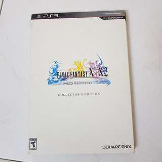 FF x & x2 PS3 book limited