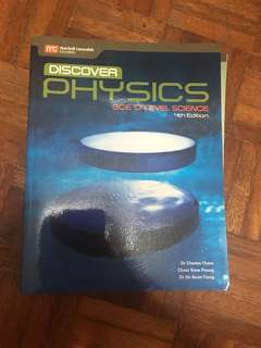 Discover Physics Textbook O levels