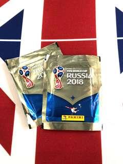 Panini 2018 FIFA World Cup Russia 貼紙 足球 世界盃