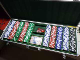 Clay Poker Chips Set