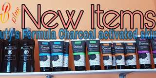 Beauty formula's charcoal activated products