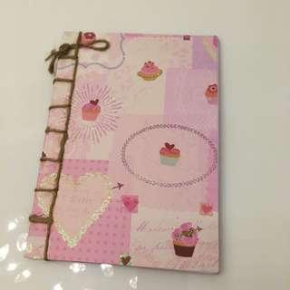 Handmade writing pad