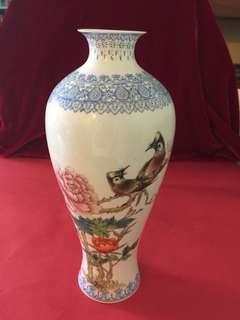 精緻80 年代薄胎花瓶:如相片所示