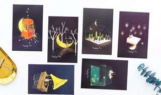 (PO) A Walk in the Moonlight Postcards/ Post Cards