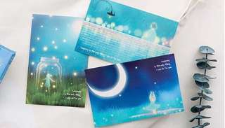 (PO) Light in the Sky Postcards/ Post Cards