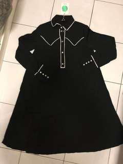 BNWT MONKI Pyjama Shirt Dress