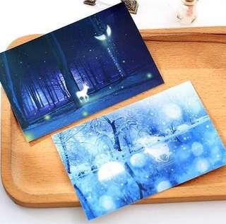 (PO) Mystique Forest Postcards/ Post Cards