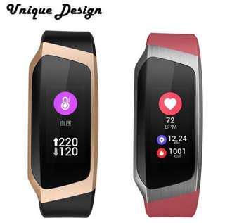 E18 Smart Watch Blood Presure Waterproof Fitness Bracelet