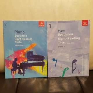 Piano Sight Reading Grade 1 And 2