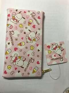 Sanrio 全新日本🇯🇵 Pochacco 拉鍊袋