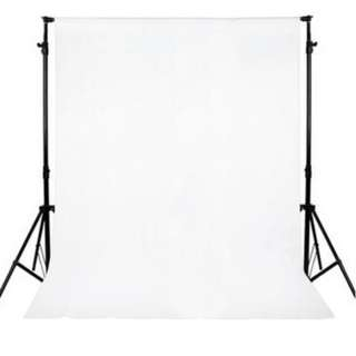 3 X 3M DURABLE WHITE PROFESSIONAL MUSLIN PHOTOGRAPHY BACKGROUND BACKDROP 300.00 x 300.00 x 0.30 cm
