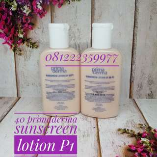 Primaderma sunscreen lotion of 30 P1