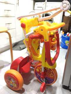 iimo 面包超人版 幼兒三輪車
