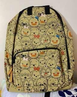 大特賣🏆全新有牌迪士尼tsumtsum系列實用背包!