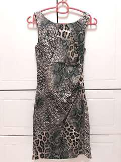 Dorothy Perkins Leopard-Print Midi Dress
