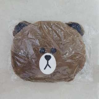 Line Brown Cushion
