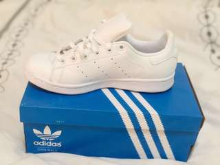 Adidas Stan Smith - WHITE.  used once only! Size EU 36 US 4 UK 3 1/2
