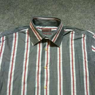 ZARA Stripe Shirt Long Sleeve Size L
