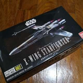 🚚 Bandai 002 x-wing starfighter Star Wars