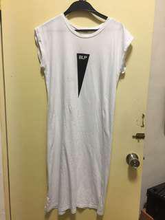 🚚 白色透氣長裙