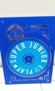 Super Junior 8輯 淨專 利特碟 black suit one more chance PLAY