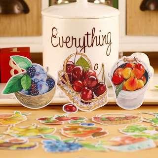 (Instock) Fruit Baskets Stickers