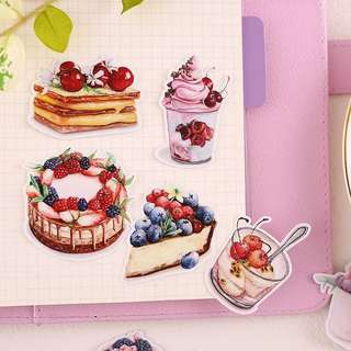 (Instock) Berry Pastries Stickers