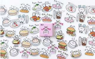 (PO) Bear Food Stickers