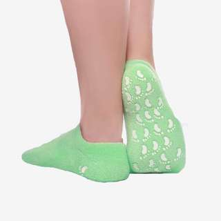 BBellsha Spa Moisturizing Gel Socks For Dry Feet And Ankles