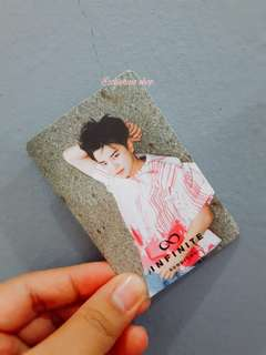 WTS/WTT INFINITE SUNGJONG REALITY OFFICIAL PHOTOCARD