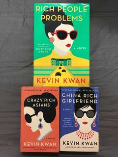Crazy Rich Asians Series By Kevin Kwan
