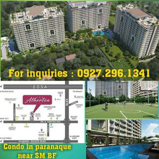 No spot down payment 2 bedrooms in Paranaque The Therton by  Dmci Homes
