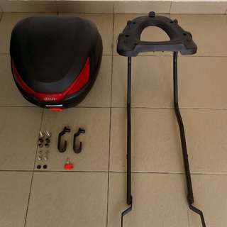 GIVI box with monorack (LC V2)