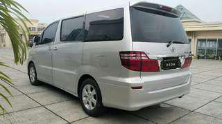 Toyota Alphard MZG 3.0 at V6 2006 silver / Angs 2.9 jt