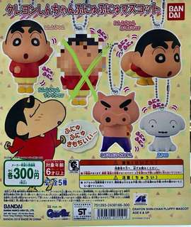 蠟筆小新掛扣(玩具扭蛋產品)