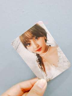 WTS/WTT TWICE JIHYO TWICECOASTER LANE 1 OFFICIAL PHOTOCARD