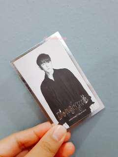 WTS/WTT iKON DONGHYUK DEBUT FULL ALBUM WELCOME BACK OFFICIAL PHOTOCARD