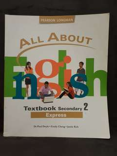 (3 for $10) All about English Secondary 2