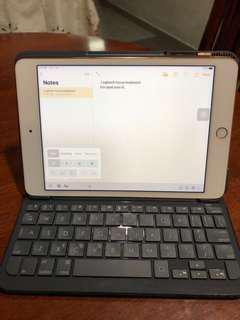 Logitech keyboard case ipd mini