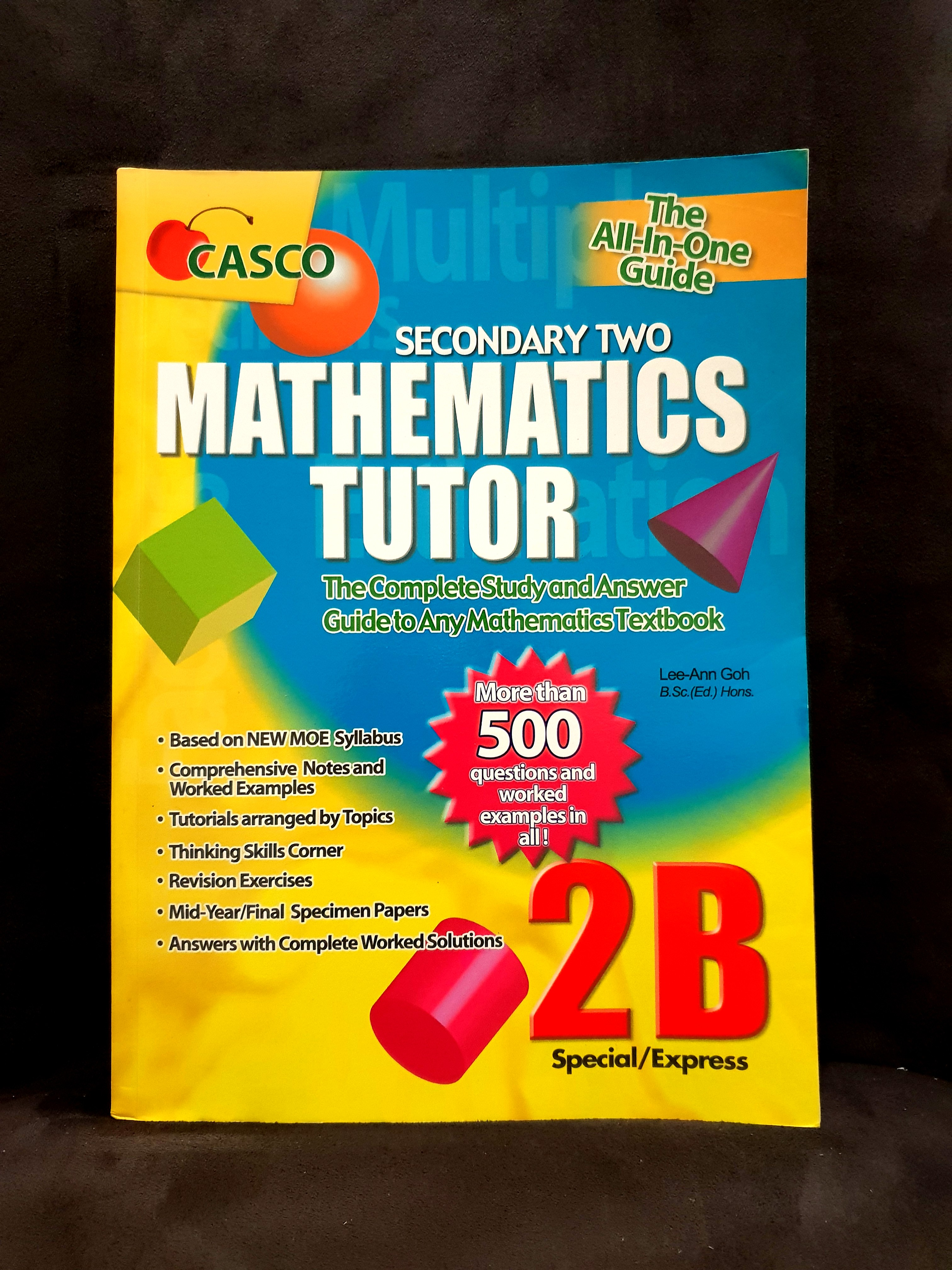 BN Math Secondary 2B Casco, Books & Stationery, Textbooks, Secondary ...
