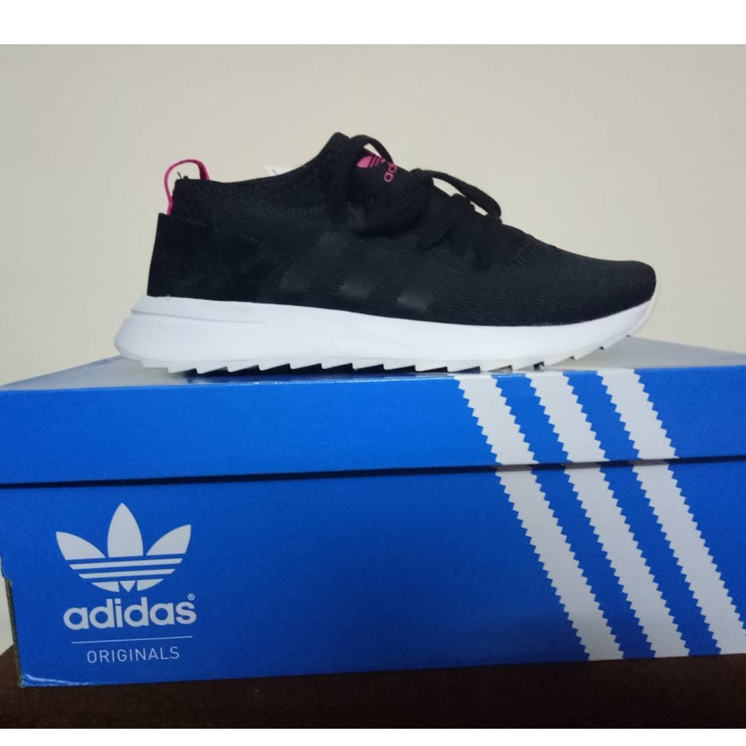 various colors e60f2 351d2 Adidas Black FLB Mid W, Womens Fashion, Shoes on Carousell