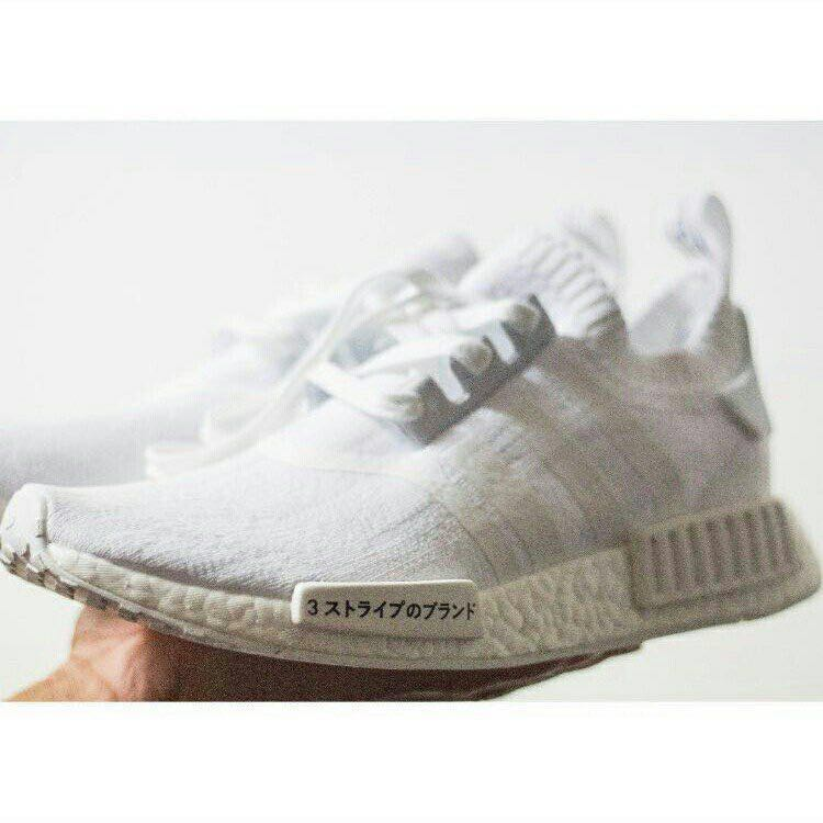 9219218e8 Adidas NMD R1 Japan Boost Triple White